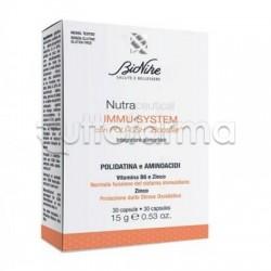 Bionike Nutraceutical Immu-System per Difese Immunitarie 30 Capsule