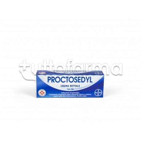 Proctosedyl Crema Rettale 20 gr per Emorroidi e Ragadi Anali