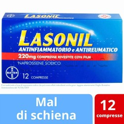 Lasonil Antinfiammatorio e Antireumatico 12 Compresse 220mg