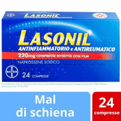 Lasonil Antinfiammatorio e Antireumatico 24 Compresse 220mg