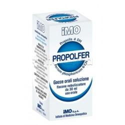 IMO Propolfer Gocce Omeopatiche con Nebulizzatore per Bambini 30ml