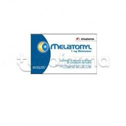 Melatonyl 1mg Integratore per Sonno 60 Compresse