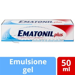 Ematonil Plus Emulgel Trattamento Lenitivo 50 Ml