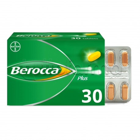 Berocca Plus Integratore Multivitaminico 30 Compresse