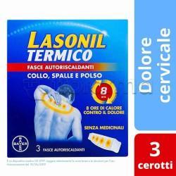 Lasonil Collo/Spalla/Polso Cerotto Termico Antinfiammatorio 3 Pezzi