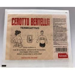 Cerotto Bertelli Medio per Dolori Muscolari e Articolari 16 x 12.5cm