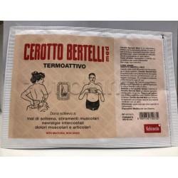 Cerotto Bertelli Grande per Dolori Muscolari e Articolari 24 x 16cm