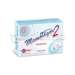 Memovigor 2 Integratore per Memoria e Concentrazione 20 Compresse