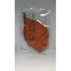 Mascherina Respiratoria Filtrante FFP2 Colorata Arancione 1 Mascherina