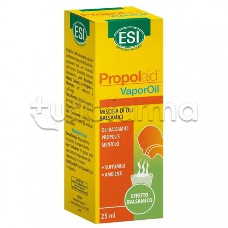 Esi Propolaid VaporOil Oli Essenziali Ambiente e Suffumigi 25ml