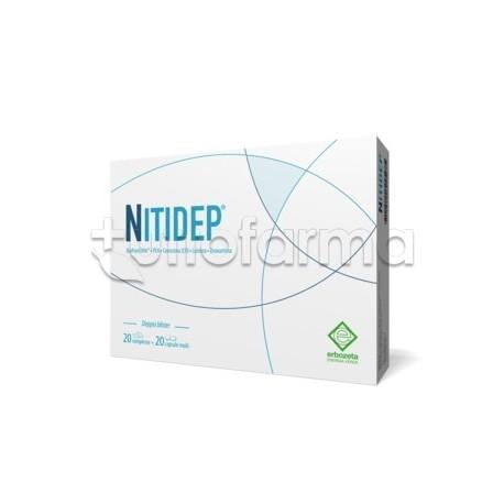 Nitidep Integratore con DHA 20 Compresse+ 20 Capsule Molli