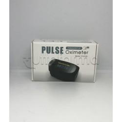 Pulse Oximeter Saturimetro Pulsossimetro Portatile per Saturazione Ossigeno 1 Pezzo