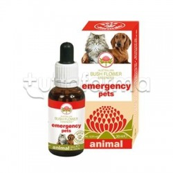 Australian Bush Flower Emergency Pets Gocce Veterinarie per Cani e Gatti 30ml