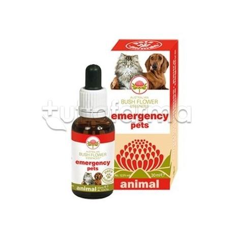 Australian Bush Flower Emergency Pets Gocce Veterinarie per Cani e Gatti 30ml