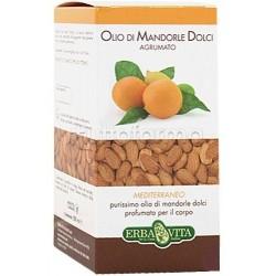 Erba Vita Olio di Mandorle Dolci Agrumato Olio Idratante Corpo 250 ml