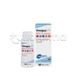 Marco Viti Omega 3 Multi Azione Integratore con Omega 3 60 Perle