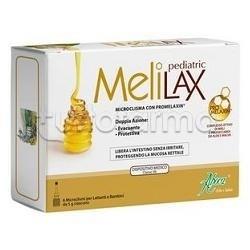 Aboca Melilax Pediatrico Benessere Intestinale 6 Microclismi