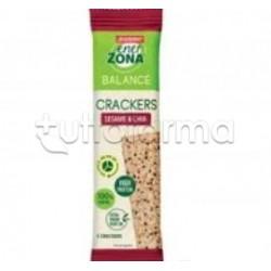 Enervit Enerzona Crackers Gusto Sesamo e Semi di Chia 1 Porzione