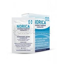 Norica Disinfect Puravir Fazzoletti Disinfezzanti per Mani 10 Bustine