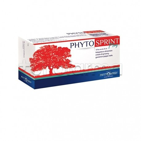 Phytosprint Plus Integratore Tonico 10 Flaconcini
