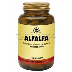 Solgar AlfaAlfa Integratore a base di Medicago sativa 100 tavolette