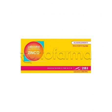 IMO Labcatal Nutrition Zinco Oligoelementi 28 Fiale da 2ml