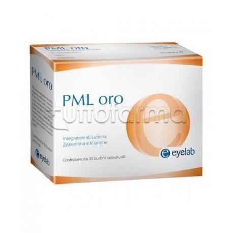 PML Oro Integratore per la Vista 30 Bustine Orosolubili
