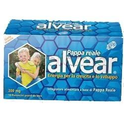 Alvear 200 mg Pappa Reale 10 Flaconcini