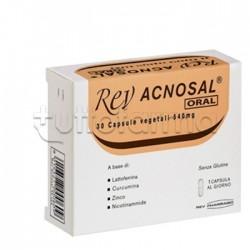 Rev Acnosal Oral Integratore Antiossidante 30 Capsule