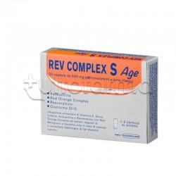 Rev Complex S Age Integratore Antiossidante 20 Capsule