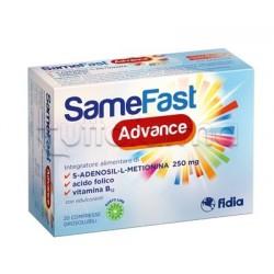 Samefast Advance Integratore Ricostituente Over 60 20 Compresse Orosolubili