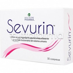Sevurin Integratore per Benessere Vie Urinarie 30 Compresse