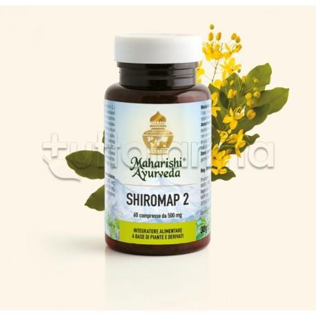 Maharishi Ayurveda Shiromap 2 Integratore per Benessere Mentale 60 Compresse