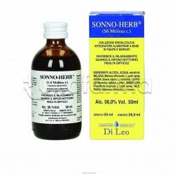 Sonno-Herb S6 Melissa Integratore Rilassante 50ml