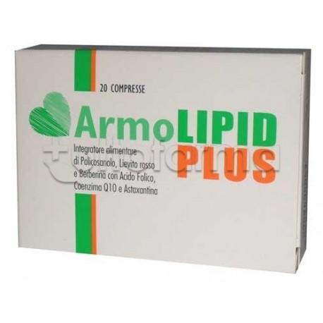 Armolipid Plus 20 Compresse Integratore per Abbassare il Colesterolo e Trigliceridi