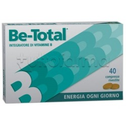 Be-total Plus Integratore Vitamina B 40 Compresse