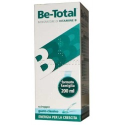 Be-total Plus Sciroppo Classico gusto Vaniglia Vitamina B 200 ml