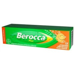 Berocca Plus Integratore Vitamine 15 Compresse Effervescenti