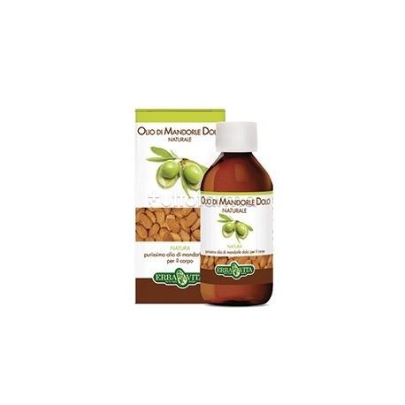 Erba Vita Olio di Mandorle Dolci Naturale Olio Idratante Corpo 250 ml