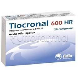 Tiocronal 600 HR Integratore Antiossidante 20 Compresse