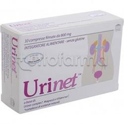 Urinet Integratore per Benessere Vie Urinarie 30 Compresse