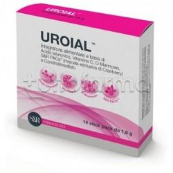 Uroial Integratore per Benessere Vie Urinarie 14 Bustine