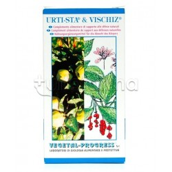 Vegetal Progress Urtista & Vischiz Integratore per Difese Immunitarie 80 Tavolette