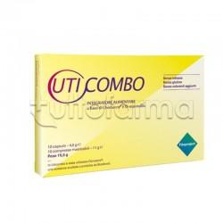 Uticombo Integratore per Vie Urinarie 10 Capsule + 10 Compresse Masticabili