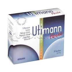 Utimann Forte Integratore per Benessere Vie Urinarie 14 Bustine