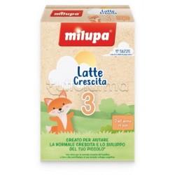 Milupa 3 Latte di Crescita in Polvere dall'Anno in poi 600g