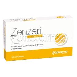 Zenzeril Integratore Digestivo contro la Nausea 30 Compresse