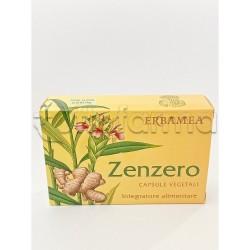 Zenzero Integratore Digestivo contro la Nausea 24 Capsule