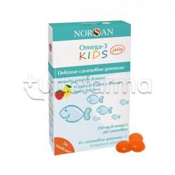 Norsan Omega 3 Kids Jelly Caramelline Gommose con Omega 3 per Bambini 45 Pezzi