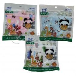 Mascherina Respiratoria Filtrante FFP2 per Bambini CE 10 Mascherine